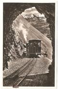Brienz-Rothorn-Bahn - Hotel Rothorn- Kulm - Carte Photo - état Neuf - Train - BE Berne