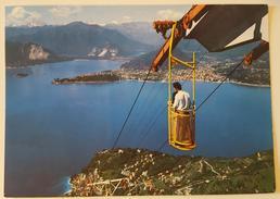 INTRA (Verbania) - Lago Maggiore - Arrivo A Poggio S. Elsa Della Funivia Di Laveno - Cable Car - Verbania