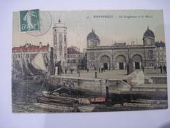 CPA  Dunkerque Le Leughenaer Et Le Minck Genre Toilé  1907  T.B.E. - Dunkerque