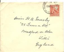 LETTER 1933 - 1907-1947 Dominion