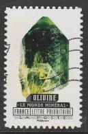 France 2016 Minerals  L.V.20g SW:6074 Multicoloured  Used - France