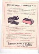 """Méc 1) (Publicité Ancienne Concernant La Mécanique)Protège Chambre   """"Repusseau """"  1 Page  Rec/ - Werbung"""