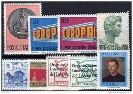 ITALIA REPUBBLICA - 1969 - Annata Completa - 9 Valori - Complete Year - ** MNH/VF - Annate Complete