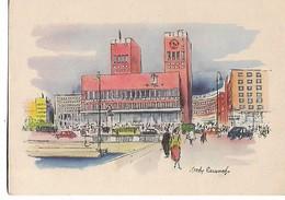Victor  Weinrich    -       Oslo  -  Radhuset - Illustrators & Photographers