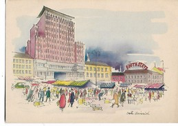 Victor  Weinrich    -       Oslo  -    Youngstorget - Illustrators & Photographers