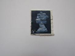 Grb101   5d  Bleu   Elisabeth II       YT 477 - 1952-.... (Elisabetta II)
