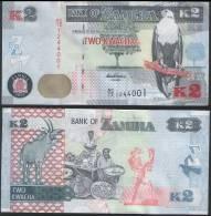 Zambia P 49 - 2 Kwacha 2012 2013 - UNC - Zambia