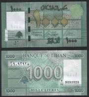 Lebanon P 90 - 1000 1.000 Livres 2011 - UNC - Libano