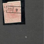 Austria1850:Lombardei-Venetia 3 TypeIII - 1850-1918 Imperium