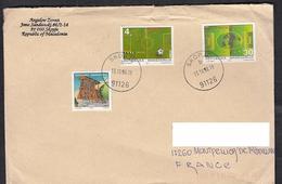 MACEDONIA, 1998, MICHEL 126/7 - FRANCE 98 / MICHEL 119-ARHITECTURE **