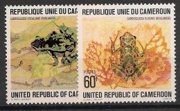 Cameroun - 1978 - N°Yv. 621 Et 622 - Grenouilles - Neuf Luxe ** / MNH / Postfrisch