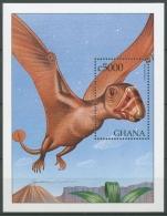 Ghana 1999 Prähistorische Tiere Dimorphodon Block 370 Postfrisch (C23955)
