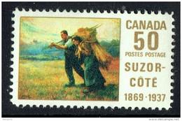 1969  Suzor-Coté  Painting  «Return From The Harvest Field»  Sc 492  MNH - 1952-.... Règne D'Elizabeth II