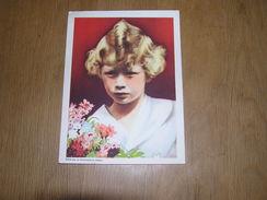 Chromo AIGLON N° 5 Photogravure SOUVERAINS ET PRINCES Belgique Roi Léopold 3 Famille Royale Chocolat Trading Card - Aiglon