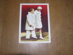 Chromo AIGLON N° 10 Photogravure SOUVERAINS ET PRINCES Belgique Roi Léopold 3 Famille Royale Chocolat Trading Card - Aiglon
