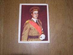 Chromo AIGLON N° 1 Photogravure SOUVERAINS ET PRINCES Belgique Roi Léopold 3 Famille Royale Chocolat Trading Card - Aiglon