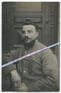 1918 / CARTE PHOTO / 99e RI ( VIENNE / LYON ) / CAPORAL MITRAILLEUR / PRISONNIER / MANNHEIM / 99e RÉGIMENT D' INFANTERIE - War, Military
