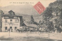 Hte Savoie - Servoz - Entrée Des Gorges De La Diosaz - Café Restaurant - Autres Communes