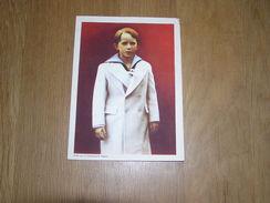Chromo AIGLON N° 4 Photogravure SOUVERAINS ET PRINCES Belgique Roi Léopold 3 Famille Royale Chocolat Trading Card - Aiglon
