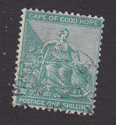 Cape Of Good Hope, Scott #51, Used, Hope And Symbols Of Colony, Issued 1892 - Zuid-Afrika (...-1961)
