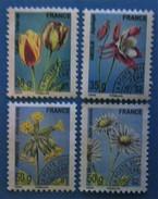 France 2011 : Flore,Fleurs N° 259 à 262 Oblitéré