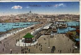 TURQUIE - CONSTANTINOPLE - LE NOUVEAU PONT - CARTE NEUVE. - Türkei