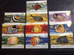 86089) Loltto Di Francobolli Di Penrhyn-pesci -nuovi MNH** - Penrhyn