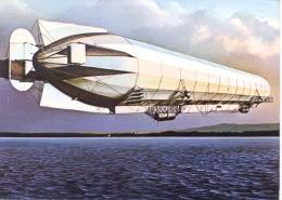 Germany BRD 1977 Picture Postcard Zeppelin LZ 4 With Cancel Singen 7.7.77 On 2 X 5 Pf. - Dirigibili