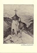 GOUVY - DEIFFELT (6672) : Eglise Saint-Lambert - D'après L'eau-forte Originale Signée C. Barthélemy. CPSM. - Gouvy