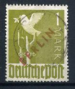 33524) BERLIN 1.- DM Rotaufdruck Gestempelt Aus 1949, 550.- € - Berlin (West)