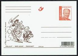 JOHAN Et PIRLOUIT: 50 Ans - PEYO - Non Circulé - Not Circulated - Nicht Gelaufen -  Ed. Postes Belges - 2004. - Fumetti