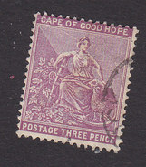 Cape Of Good Hope, Scott #46, Used, Hope And Symbols Of Colony, Issued 1898 - Kap Der Guten Hoffnung (1853-1904)