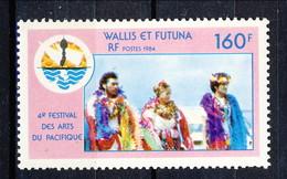 WF 1984 N. 321 4° Festival Delle Arti Del Pacifico MNH Cat. € 4,70 - Wallis E Futuna