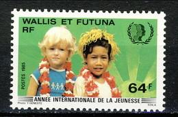 WF 1985 N. 331 Anno Della Gioventù MNH Cat. € 1.70 - Wallis E Futuna
