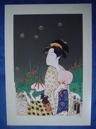 Ukiyoe : Reproduction Offset ( Eisyousai Chouki ) - Prints & Engravings