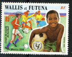 WF 1986 N. 343 Mondiali Di Calcio In Messico MNH Cat. € 3 - Wallis E Futuna