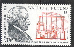 WF 1986 N. 347 James Watt MNH Cat. € 2.50 - Wallis E Futuna