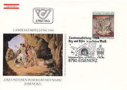L3154 - Austria (1984) 8790 Eisenerz: Provincial Exhibition 1984 (theme: Mining)