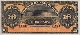 * COSTA RICA 10 PESOS 1899 P-S164r NEUF - Costa Rica