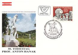 L3157 - Austria (1984) 2103 Langenzersdorf: Anton Hanak (1875-1934) österreichischer Bildhauer