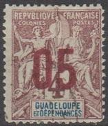 Guadeloupe 1912 N° 72 Sage Faux De FOURNIER (D31) - Guadeloupe (1884-1947)
