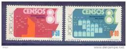 ! ! Portugal - 1981 Censos (complete Set) - Af. 1502 To 1503 - MNH - 1910-... República
