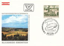 L3162 - Austria (1984) 3950 Gmünd, Niederösterreich: Blockheide-Gmünd Nature Park
