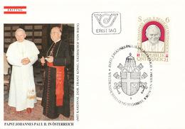L3163 - Austria (1983) 1010 Wien: Pope Saint John Paul II (1920-2005)