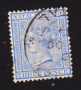 Natal, Scott #68, Used, Victoria, Issued 1884 - Zuid-Afrika (...-1961)