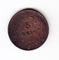 PORTUGAL KM 530, 1899, 5 REIS. (B408) - Portugal