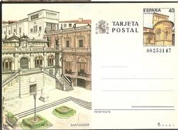 Spain ** & Inteiro Postal, Santander. Santillana Del Mar 1987(144) 1 - Ponti