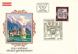 L3173 - Austria (1978) 4810 Gmunden: 700 Years City Gmunden (coat Of Arms, Castle)