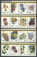 Chile 1988 Mi Vie1237-1252 MNH -  Flowers Orchids  ( ZS3 CHLvie1237-1252 )