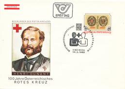 L3182 - Austria (1980) 1150 Wien: 100 Years Of The Austrian Red Cross 1880-1980